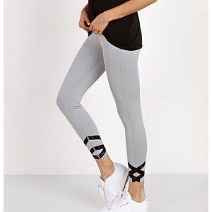 dceabf15079 Beyond Yoga pinstripe strappy ballet legging ...